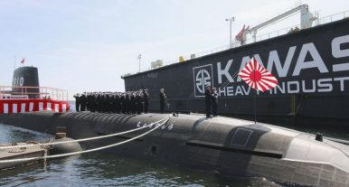 Japan Commissions 10th Soryu-Class Diesel-Electric Attack Submarine