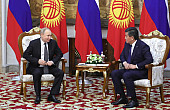 Putin in Kyrgyzstan: A Tiny Base Expansion and a Hydropower Agreement