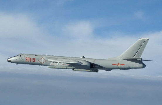 Japan Scrambles Fighter Jets to Intercept 4 Chinese Bombers Over