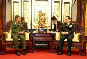 China, Myanmar Extol 'Eternal' Friendship as Commander-in-Chief Visits Beijing