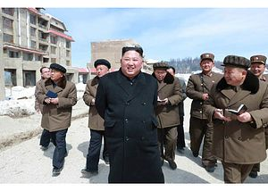 Kim Jong Un Visits Samjiyon County Ahead of Supreme People's Assembly Meeting