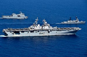 A First: Japan's Maritime Self-Defense Force Joins US-Australia Talisman Sabre Exercises
