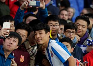 East Asian Footballers Make Their Way West