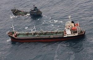 British Royal Navy Vessel Reports North Korean Illicit Ship-to-Ship Transfer in East China Sea