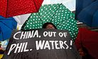 Philippines Slams China's South China Sea Flotilla