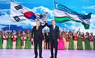 South Korean President Moon Travels Across Central Asia