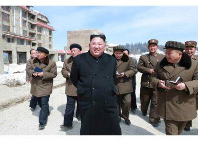 Kim Jong Un Visits Samjiyon County Ahead of Supreme People's Assembly Meeting