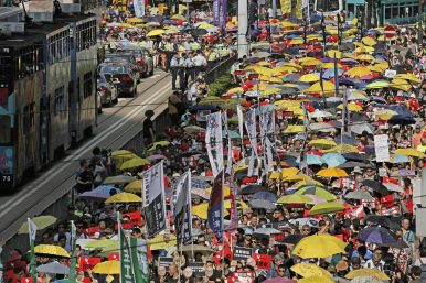 Hong Kong Protests Proposed Extradition Law