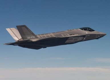 Japan Confirms F-35A Fighter Crashed