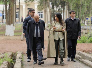 Uzbek Presidential Daughter Takes First Work Trip