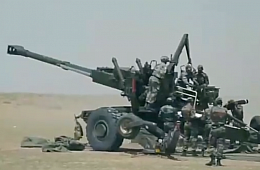 India's Army Receives First Six of 114 Long-Range Dhanush Howitzers