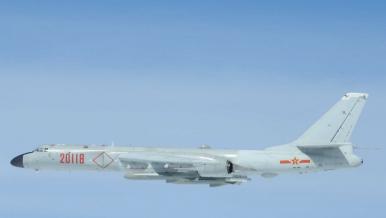 China Conducts Military Drills Involving Long-Range Bombers Near Taiwan, Japan