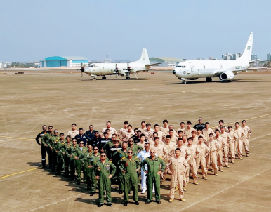 Japan Sub-Hunting Planes Conduct Anti-Submarine Warfare Exercise in India
