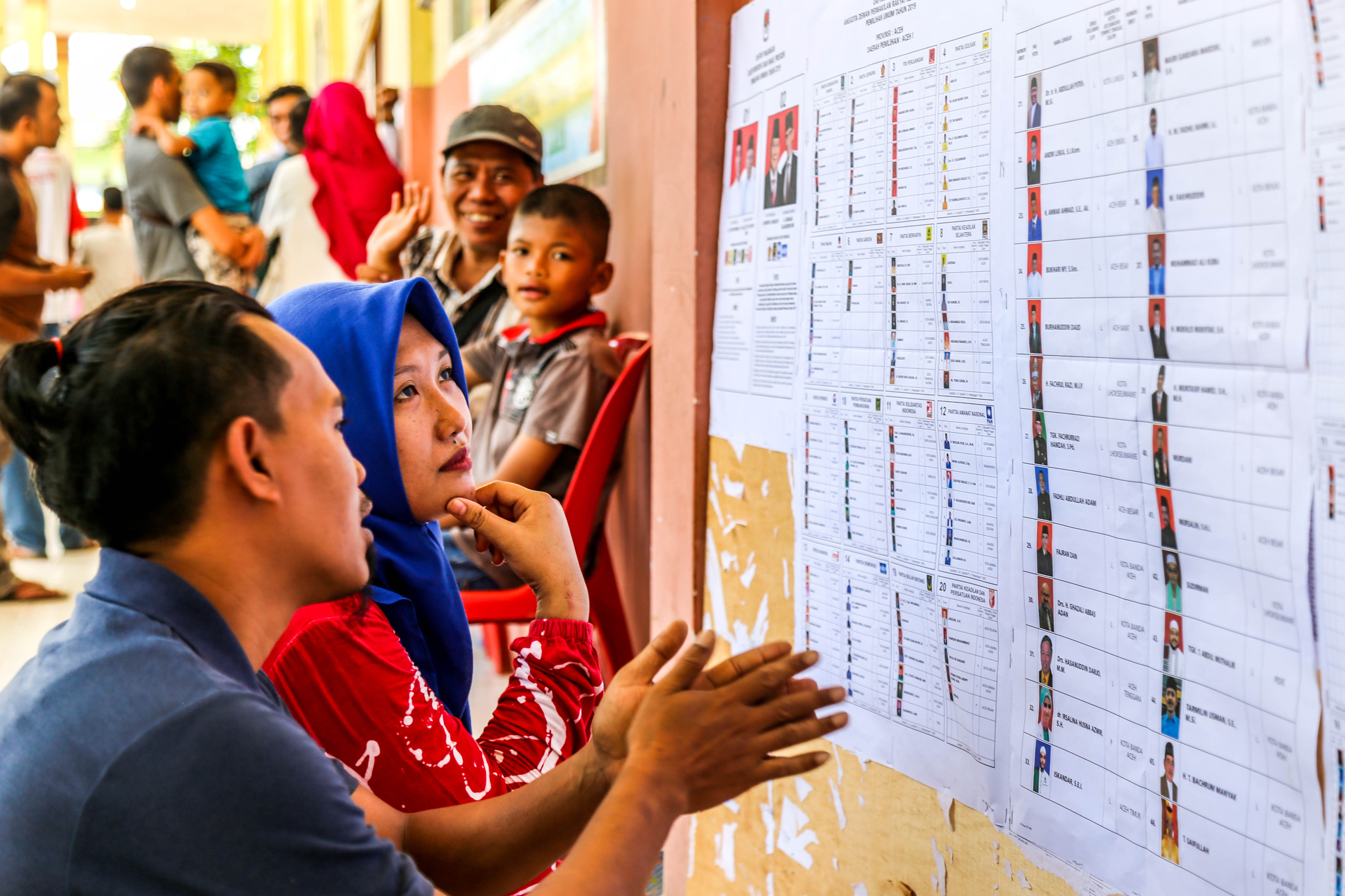 Indonesian Elections: Scenes From Aceh
