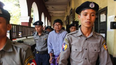 Myanmar's Supreme Court Rejects Journalists' Final Appeal