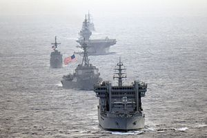 US, India, Japan, Philippine Navies Demonstrate Joint Presence in South China Sea