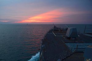 US, Japan Conduct Cooperative Naval Deployment in Strait of Malacca