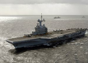 India, France Hold Large Naval Warfare Exercise Involving 2 Aircraft Carriers