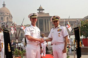 US Naval Chief in India for High-Level Defense Talks