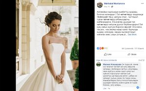 A Wedding Dress, a Tweet, and Kyrgyzstan's Culture Wars