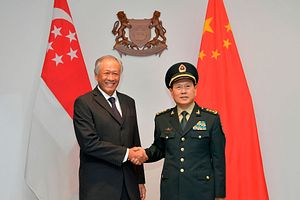 China-Singapore Military Ties in Focus With Army Exercise