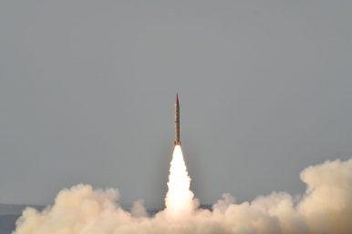 Pakistan Test Fires Medium-Range Ballistic Missile