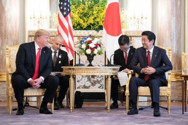 US, Japan Downplay Differences During Trump's State Visit