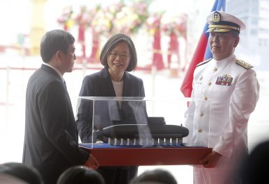 Taiwan Unveils Model of Indigenously-Designed Diesel-Electric Attack Submarine