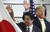 Trump Tours Japan's <em>Izumo</em>-Class Carrier Hailing its Future F-35B Capability