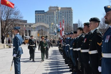 Canada-Vietnam Military Ties in Focus With First Defense Minister Visit