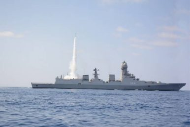 India's Navy Successfully Tests Cooperative Engagement Capability During Missile Test