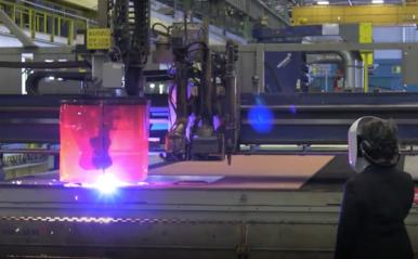 US Shipbuilder Cuts First Steel for Lead Columbia-Class Ballistic Missile Submarine
