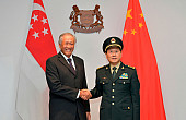What's in the New China-Singapore Deepening Military Ties Talk?