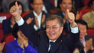 South Korean President Moon's Mid-Term Review