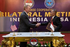 The Future of US-Indonesia Military Ties in Focus With Defense Secretary Visit