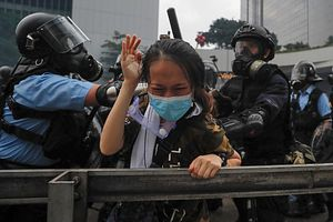 Violence Erupts During Latest Anti-Extradition Protest in Hong Kong
