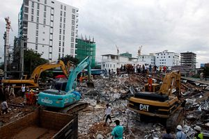 Cambodia to Investigate Building Collapse in Chinese Investment Zone