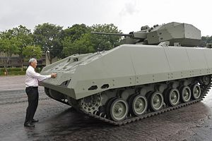 What's Behind the Unveiling of Singapore's New Armored Fighting Vehicle?