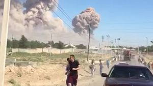 Fire, Explosions at Ammunition Depot in Southern Kazakhstan Trigger Evacuation