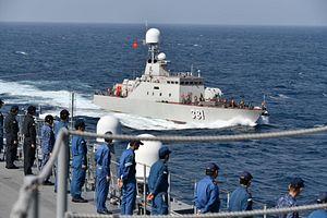 Vietnam, Japan Conduct Naval Exercise