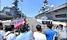 Japan's Largest Flattop Visits Vietnam's Cam Ranh Port