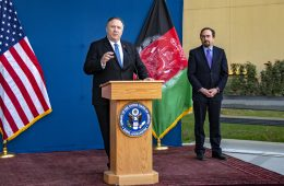 Pompeo Optimistic About Peace in Brief Visit to Afghanistan En Route to Asia