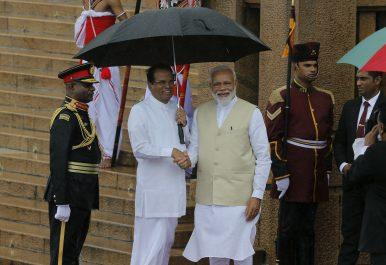 India, Sri Lanka Agree to Step Up Anti-Terrorism Efforts