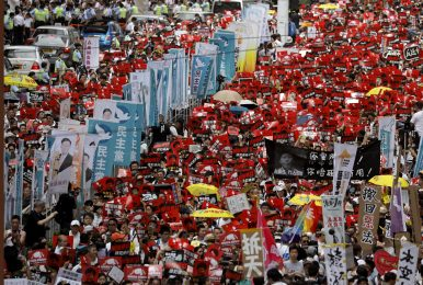 Hundreds of Thousands Join Hong Kong Protest Against Extradition Law. Will It Matter?