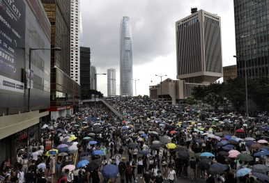 What China Is Saying About the Hong Kong Protests