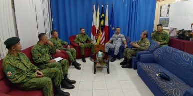 Joint Force Commander Visit Highlights Brunei-Philippines Military Relations