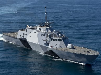 US to Christen New Littoral Combat Ship