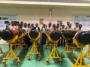 India Delivers Initial Batch of Indigenously Built Torpedoes to Myanmar Navy