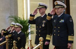 Heads of US and Chinese Navies Talk Miscalculation Amid US Leadership Shuffle