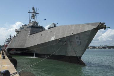 US Navy Littoral Combat Ship Arrives in Singapore for Rotational Deployment